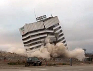 Christchurch implosion